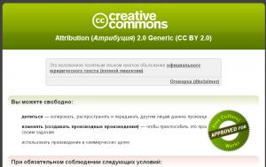 Фото лицензии, лицензии creative commons, лицензии на фотографии