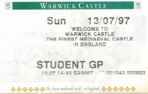 warwick castle, уорикский замок,  замки англии фото