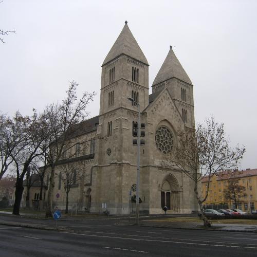 7 дней в Будапеште. День 2. Церковь Св.Маргариты