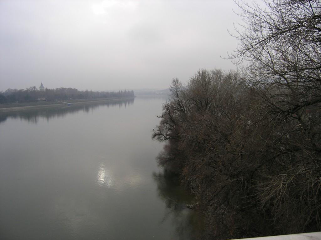 View of the Danube, вид на Дунай