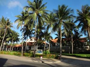 Еще раз вид на наш отель Blue Ocean Resort